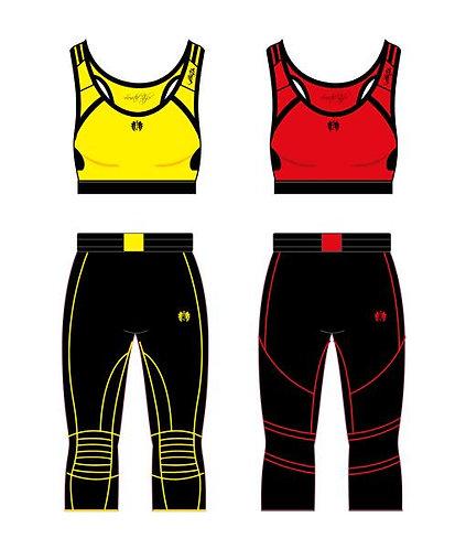 Fitness - Set - 2´er - MY Five - Tenlies 3 - Top + Hose