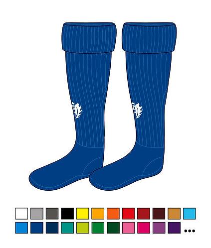 Stutzen - MY Five - Base - mit Sockenfuß
