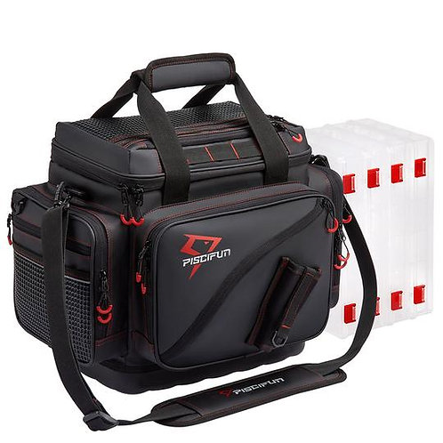Piscifun® Travel Pro Fishing Tackle Bag