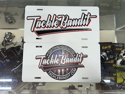 Tackle Bandit License Plate