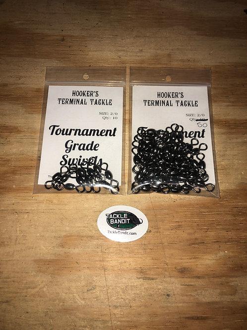 2-Way Black Nickel Swivels