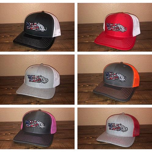 Tackle Bandit Hat Flag Logo (Snap Back)