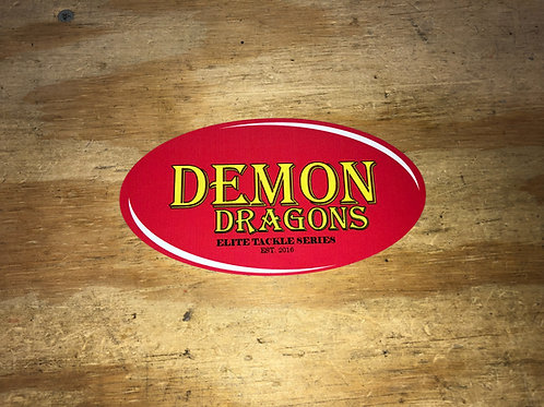 Demon Dragons Decal