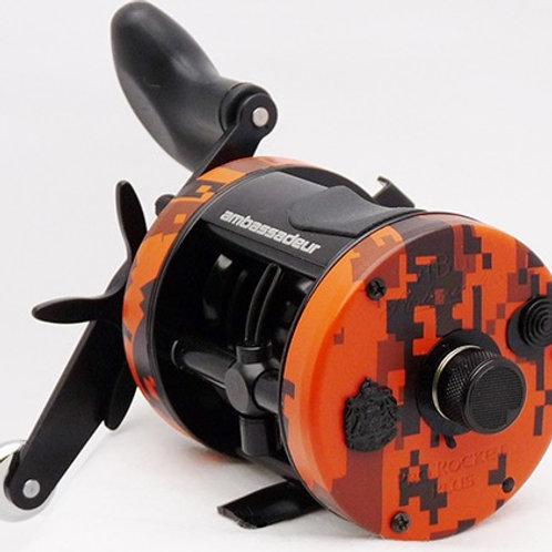 Abu Garcia Ambassadeur® 6500 Orange Camo Rocket