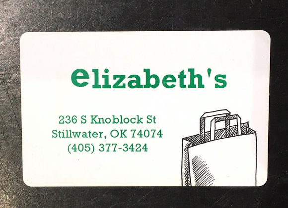 Elizabeth's Gift Card