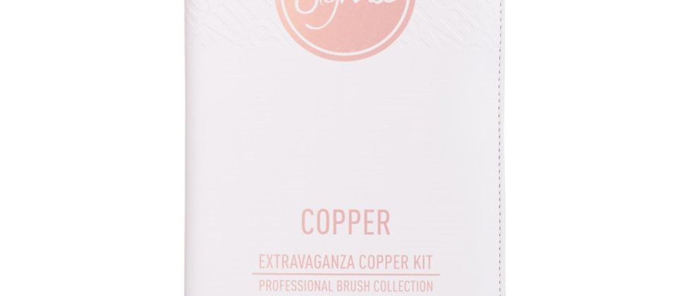 Sigma Extravaganza Copper Kit Professional Brush Collection - 29 Pieces