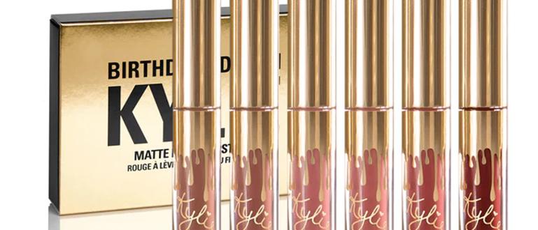 Kylie Jenner Liquid Lipstick Mini Mattes Birthday Edition