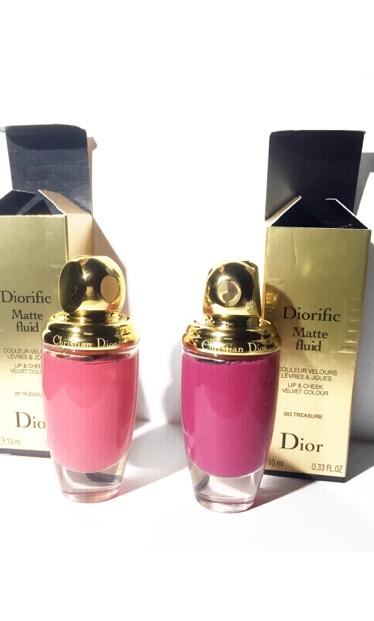 Dior Diorific Matte Fluid Lip & Cheek Velvet Colour