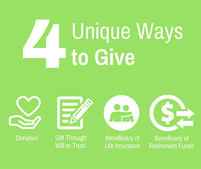 Unique Ways to Give
