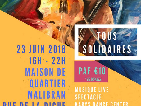 2018 - TOUS SOLIDAIRES