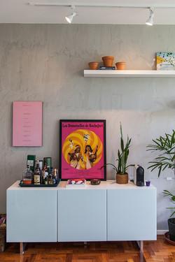 Apartamento Gávea, sala de estar