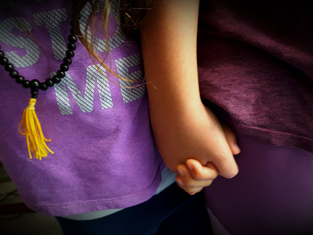 Armed (arm in arm) and Powerful : Two Little girls Defied an Entire Schoolyard of resistance.