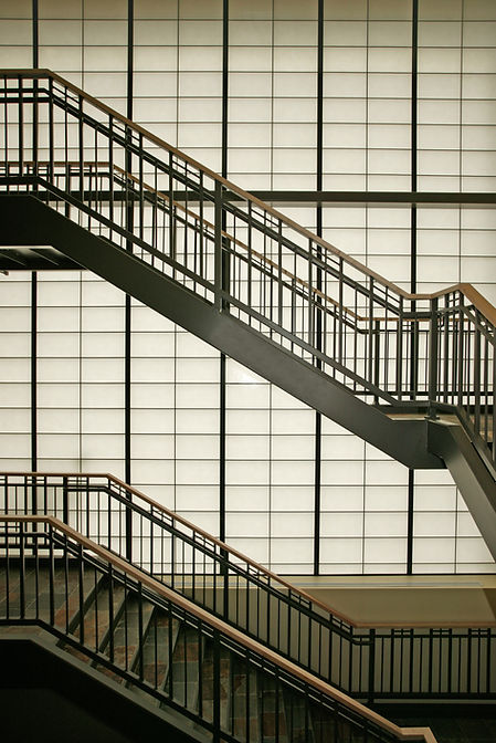 architectural design stairs railings