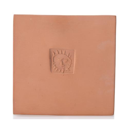 Picasso Ceramic Tile - 'Petit carré au soleil,' Ramié 631