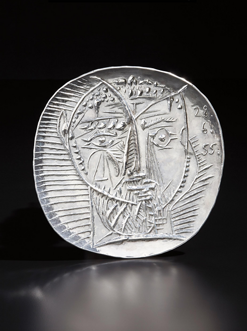 Picasso Silver plate