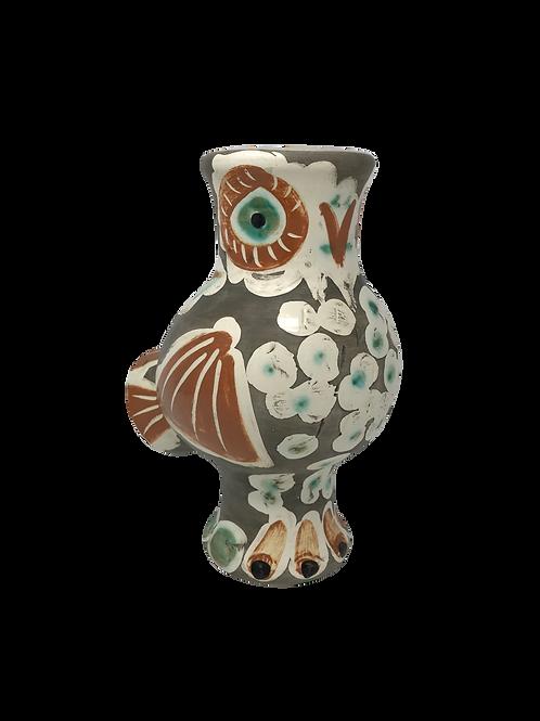 Pablo Picasso Ceramic Vase - Chouette, Ramié 543
