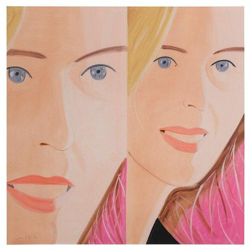 Alex Katz 'Sasha II' Print, 2016