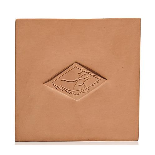 Pablo Picasso Ceramic Tile - 'Losange à la danse,' Ramié 619