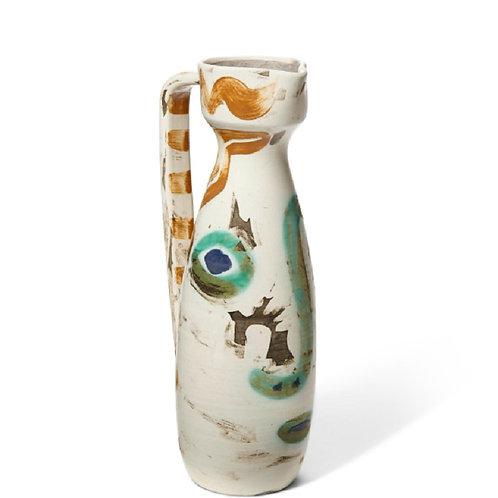 Pablo Picasso Ceramic Vase - Visage, Ramié 611