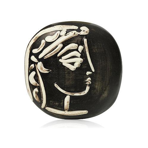 Pablo Picasso Madoura Ceramic Plate - Profil de Jacqueline, Ramié 385