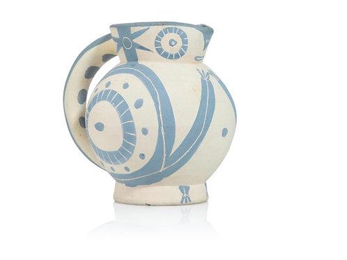 Pablo Picasso Madoura Ceramic Pitcher - Petite Chouette, Ramié 82