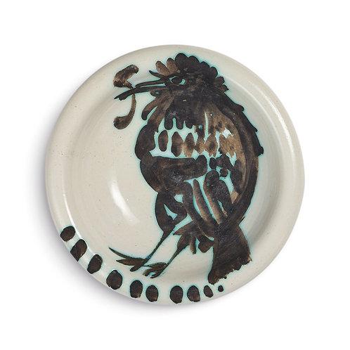 Pablo Picasso Madoura Ceramic Ashtray - Oiseau au ver, Ramié 172