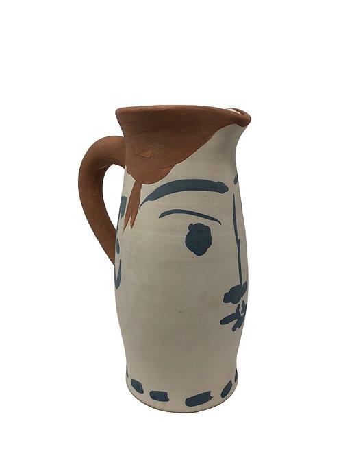 Pablo Picasso Ceramic Pitcher - Chope visage, Ramié 434