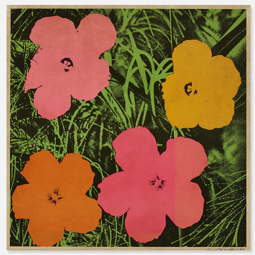 Andy Warhol, Flower Offset Lithograph, 1964