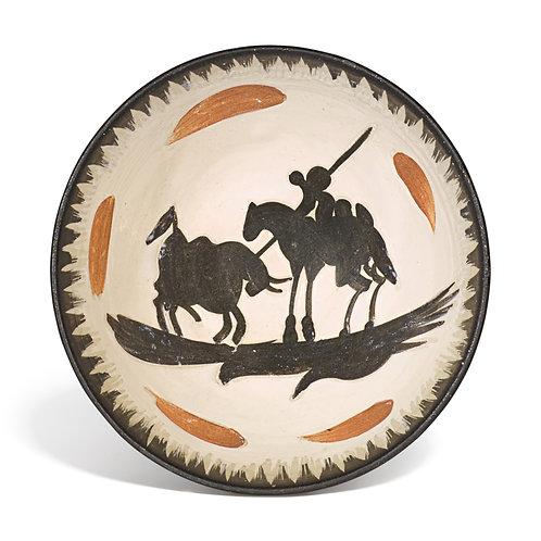 Pablo Picasso Ceramic Bowl - Picador, Ramié 289
