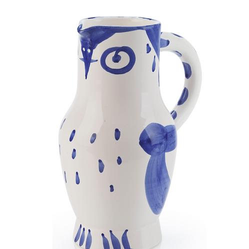 Pablo Picasso Ceramic Vase - Hibou, Ramié 253