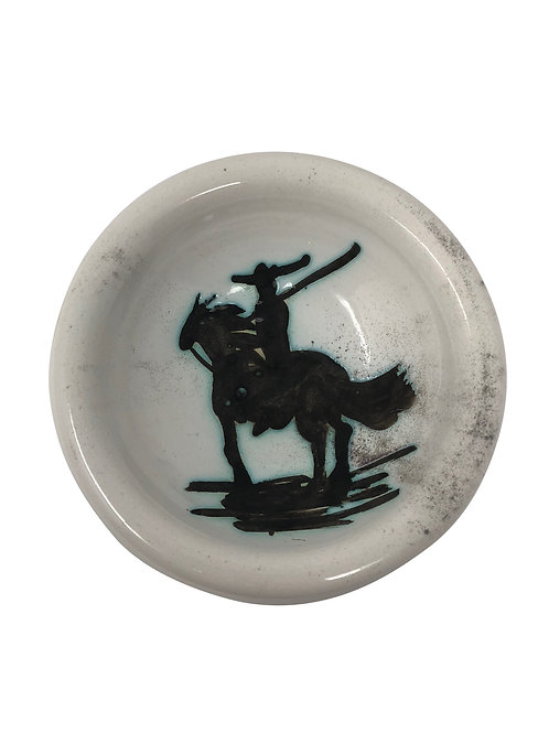 Pablo Picasso Ceramic Ashtray - Picador, Ramié 176