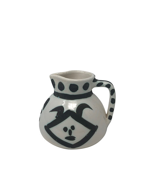Pablo Picasso Ceramic Pitcher - Têtes, Ramié 368