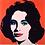 Thumbnail: Andy Warhol 'Liz' Print 1964