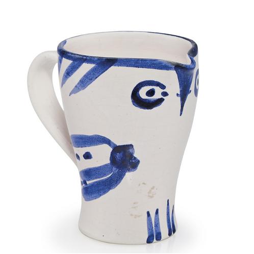Pablo Picasso Madoura Ceramic Pitcher - Hibou, Ramié 252