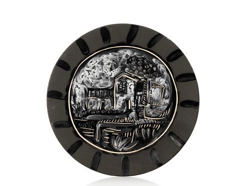 Pablo Picasso Madoura Ceramic Plate - Paysage, Ramié 207