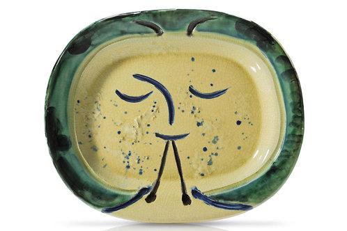 Pablo Picasso Madoura Ceramic 'Joueur de diaule,' Ramié 81