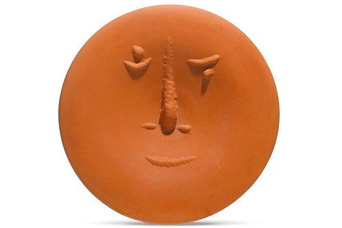 Pablo Picasso Madoura Ceramic Plate - Visage au gros nez, Ramié 504