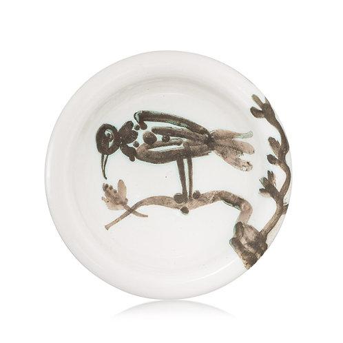 Pablo Picasso Ceramic Ashtray - Oiseau sur la branche, Ramié 175