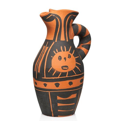 Pablo Picasso Ceramic Pitcher - Yan Soleil, Ramié 516