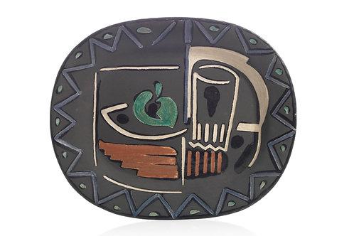 Pablo Picasso Madoura Ceramic Plate -Nature Morte, Ramié 219
