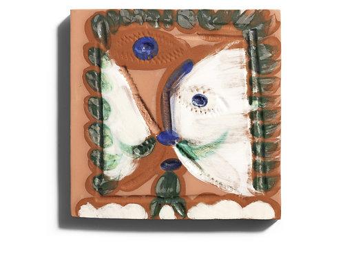Pablo Picasso Ceramic Tile - 'Visage Cubiste' Ramié 568