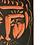 Thumbnail: Pablo Picasso Ceramic Tile - Visage d'homme, Ramié 539
