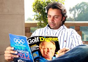 Golf Digest Jyoti Randhawa Portrait