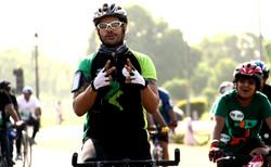 Cycle Race, Delhi