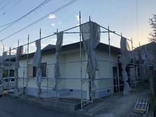 奈良 平屋建て塗装工事 屋根カバー 工事 させて頂きました。古い屋根の上から そのまま 工事できます。フルリフォーム 神戸の新築住宅リフォームの事なら コネクシオホーム