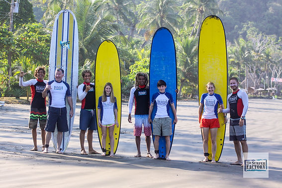 Surfschool Jaco Surfing Costa Rica Surflesson Jaco Surflesson