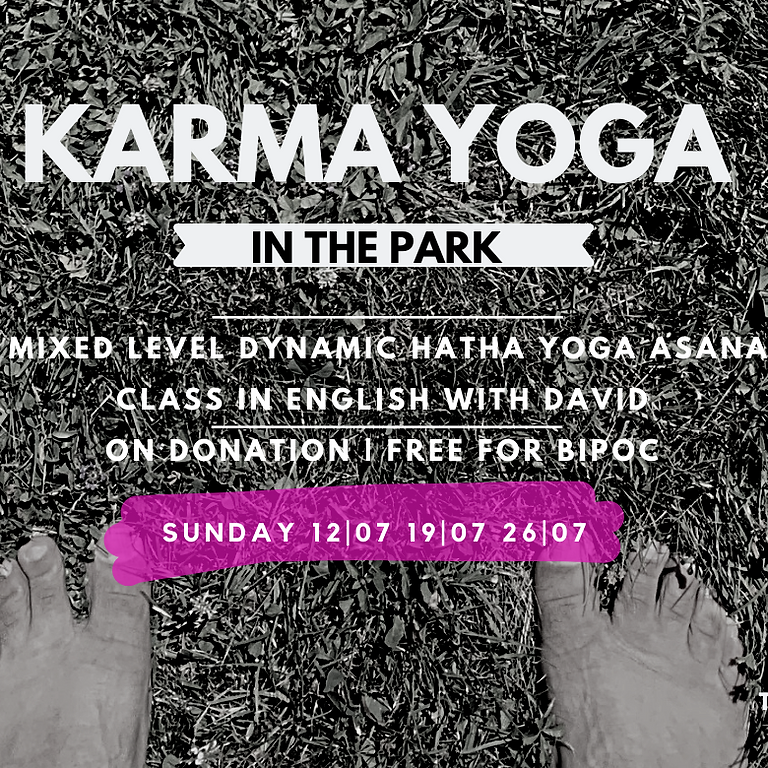 KARMA in the Park - 26 JULY 2020