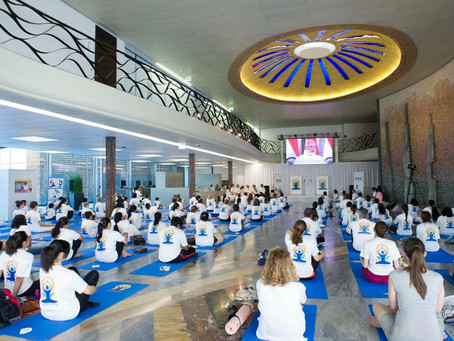 AOM supporting the 2017 International Day of Yoga