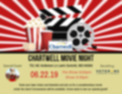 Chartwell Movie Night - Postcard - Front