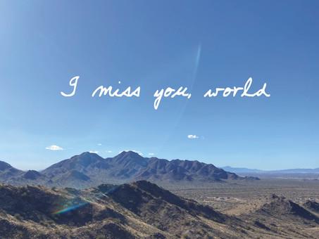 I Miss You, World